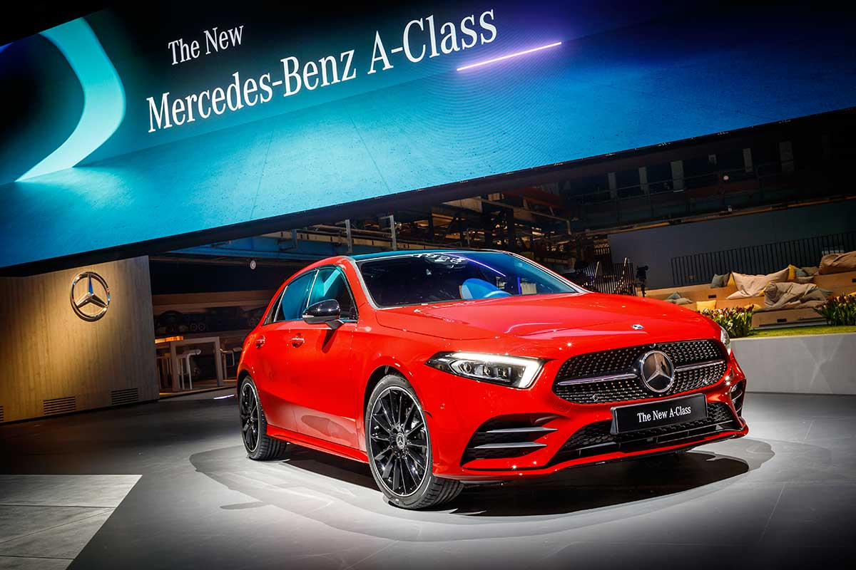 A Detailed Look At The 2019 Mercedes Benz A Class Carsomesg Com